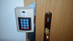 електронно заключване на входни врати